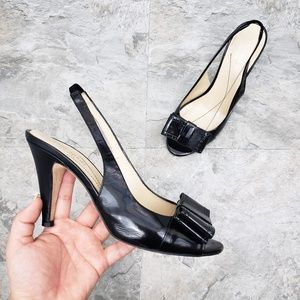 Kate Spade Patent Leather Pumps with Bows
